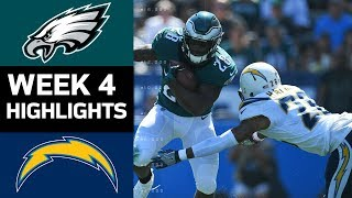 Download Eagles vs. Chargers | NFL Week 4 Game Highlights Video