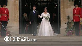 Download Princess Eugenie gets married at Windsor Castle Video