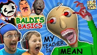 Download CRAZY SPANKING TEACHER!! Baldi's Basics in Education & Learning! (FGTEEV Math Game) Video