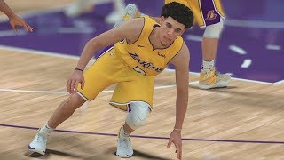 Download NBA 2K18 My Career - Got Lonzo Ball Leaning! LaVar Text! PS4 Pro 4K Gameplay Video