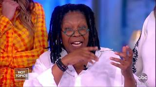 Download Whoopi Goldberg Surprises 'The View' After Pneumonia Battle For Brief Return Video