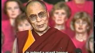 Download Dalai Lama Receives the Nobel Peace Prize Video