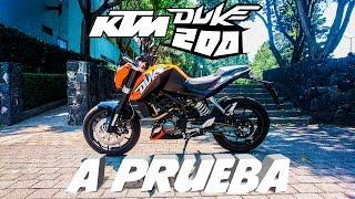 Download KTM Duke 200    Prueba/Opinión Video