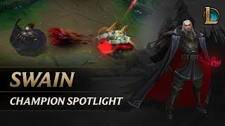 Download Swain Champion Spotlight   Gameplay - League of Legends Video