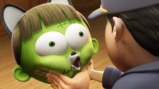 Download Забавный мультфильм | Spookiz Хэллоуинские песни для детей 스푸키 즈 | Мультфильм для детей Video