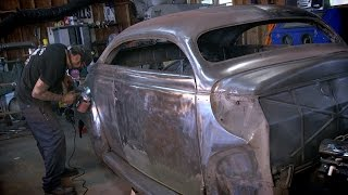 Download Bare Metal 1940 Mercury Coupe - Metal Shop Kustoms & Coachworks - Shop Profile - Eastwood Video
