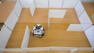 Download Lego Mindstorms - Maze solving Robot Video