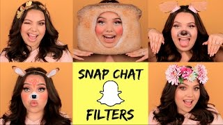 Download 5 EASY SNAPCHAT FILTERS FOR HALLOWEEN! Video