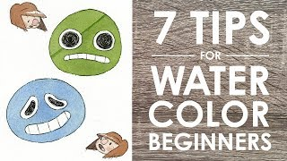 Download 7 WATERCOLOR TIPS (For Beginners!) Video