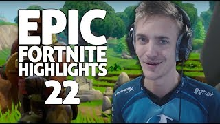Download Ninja - Fortnite Battle Royale Highlights #22 Video