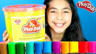 Download Tuesday Play Doh Huge Play Doh Bucket Adventure Zoo,Farm|B2cutecupcakes Video