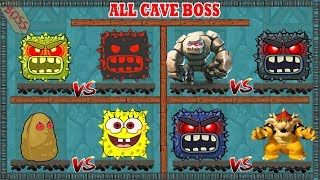 Download ( ALL CAVE BOSS ) RED BALL 4 Storms of Bosses Fights (ios/android) Video