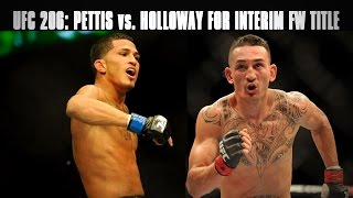 Download Anthony Pettis vs. Max Holloway set for Interim Featherweight Title at UFC 206 Video