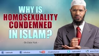 Download Dr Zakir Naik - Why is Homosexuality condemned in Islam? Video