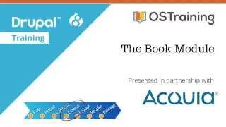 Download Drupal 8 Beginner, Lesson 44: The Book Module Video