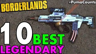 Download Top 10 Best Legendary Guns and Weapons in Borderlands 1 #PumaCounts Video