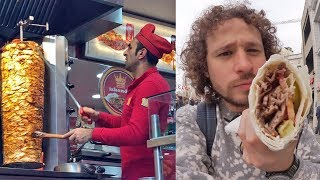 Download Probando comida callejera en TURQUÍA   ¿El origen de los tacos? Video