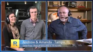 Download How We Paid Off $55,000 of Student Loans in 14 Months - Debt Free Scream on Dave Ramsey Show Video