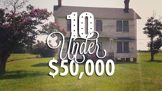 Download 10 Ultra-Cheap Fixer Upper Houses for Sale for Under $50,000 Video