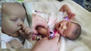 Download Reborn Baby Doll Can Suck Its Thumb | So Cute Newborn Sucks Thumb Video