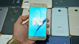 Download Android 7.1.1 Nougat Update Status! S7, S7 Edge, S6, S6 Edge, Note 5, J & A Series 2017 & 2016! Video