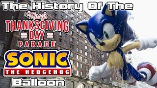 Download The History of The Macy's Thanksgiving Day Parade Sonic The Hedgehog Balloon Video
