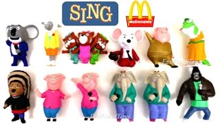Download 2016 FULL WORLD SET McDONALD'S SING MOVIE HAPPY MEAL TOYS 12 KIDS COLLECTION REVIEW EUROPE ASIA USA Video