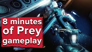 Download 8 minutes of Prey gameplay with developer commentary Video