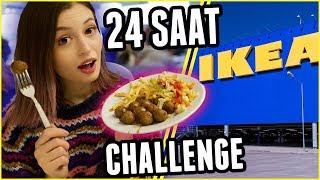 Download 24 SAAT BOYUNCA SADECE IKEA YEMEKLERİ YEDİM!!! Video