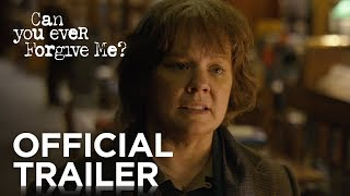 Download CAN YOU EVER FORGIVE ME? | Official Trailer [HD] | FOX Searchlight Video
