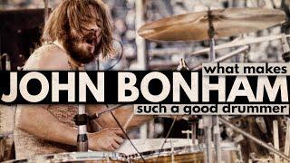 Download What Makes John Bonham Such a Good Drummer? Video