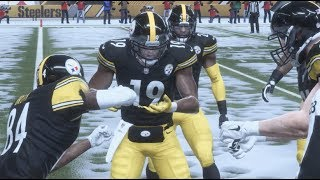 Download Madden 19 Gameplay! BLIZZARD GAME! JuJu and Antonio Brown DANCE ALL OVER THE Eagles! Video