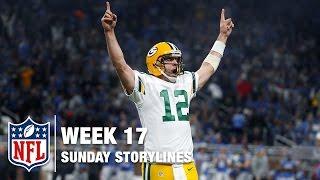Download Week 17 Sunday Storylines | NFL Network Video