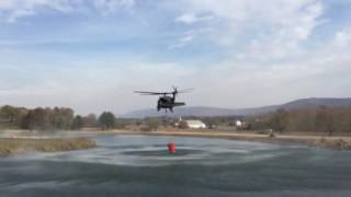 Download Blackhawk putting out Tennessee wildfire Video