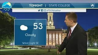 Download Matt's Friday Evening Forecast Video