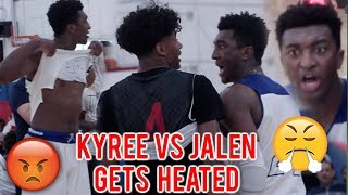 Download #1 Kyree Walker and #1 Jalen Green GETS HEATED! BATTLE FOR REAL #1 PLAYER! TOP 2020s Get Physical! Video