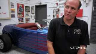 Download Hot Rod builder Roy Brizio's garage - interview video Video
