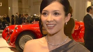 Download Zhang Ziyi Mélanie Thierry Favorite Cars Ralph Lauren Car Collection Paris 2011 Video