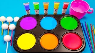 Download How To Make Frozen Paint with Colors Tube videos Video