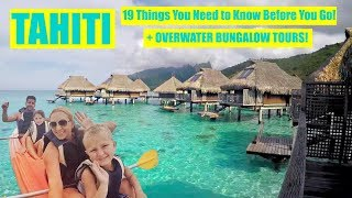 Download Overwater Bungalow Tour + 19 Travel Tips to Tahiti! (Bora Bora, Moorea and Papeete) Video