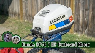Download Honda 5hp 4 stroke Outboard Motor the BF50 Video