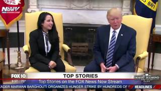 Download FNN: President Trump Meets with Aya Hijazi, Egyptian-American Freed After 3 Years in Cairo Jail Video