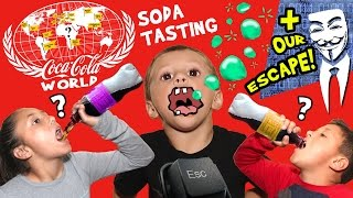 Download Stopping Hackers & Drinking 60+ Flavors of Soda @ World of Coca-Cola (ATLANTA, GA Family Vlog # 2) Video
