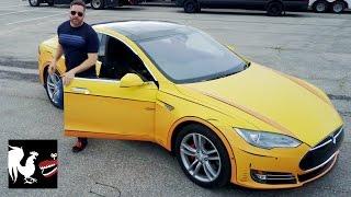 Download Burnie's Vlog with a Cartoon Tesla | Rooster Teeth Video