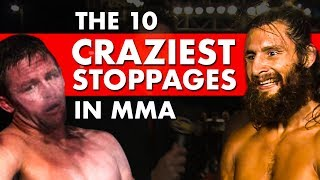 Download 10 Craziest Late Stoppages in MMA Video