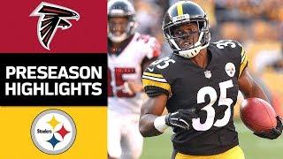 Download Falcons vs. Steelers   NFL Preseason Week 2 Game Highlights Video