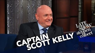 Download The First Thing Captain Scott Kelly Did On Earth After 340 Days In Orbit Video