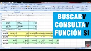 Download EXCEL AVANZADO - FUNCIÓN BUSCARV Video