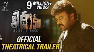 Download Khaidi No 150 Official Theatrical Trailer    Mega Star Chiranjeevi    V V Vinayak    DSP Video