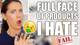 Download FULL FACE WITH HATE PRODUCTS ... FAIL Video